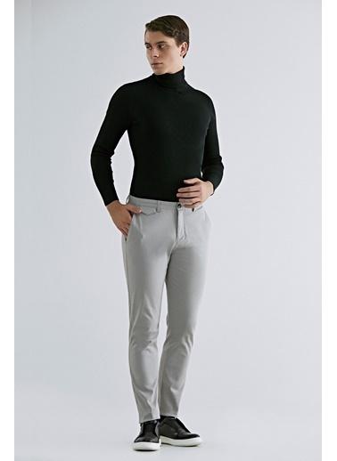 TWN Slim Fit Armürlü Chino Pantolon Taş
